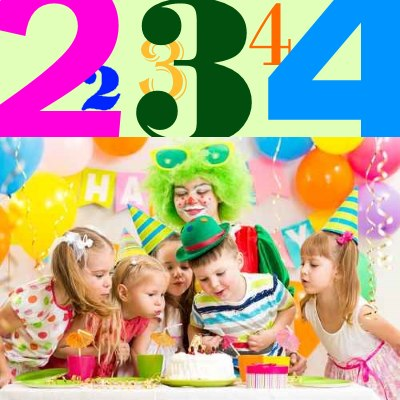 Super Kindergeburtstag Mottos 2 bis 4 Jahre