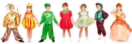 Kostüme für Kindermottoparty