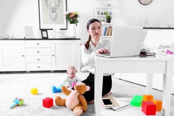 Zuhause arbeiten