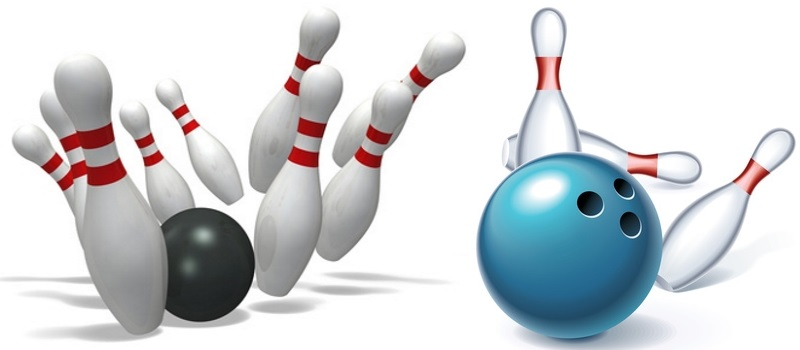 Kegel- oder Bowling-Party