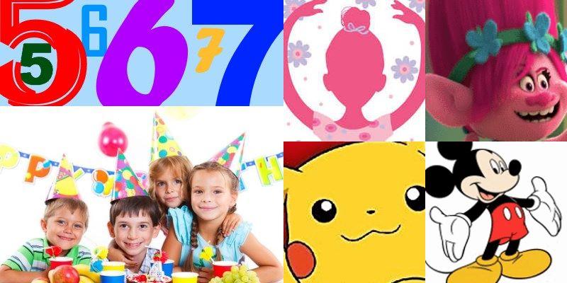Super Geburtstagsparty Ideen für Kinder von 5 bis 7