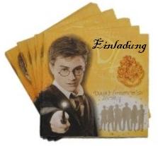 Harry Potter Einladung