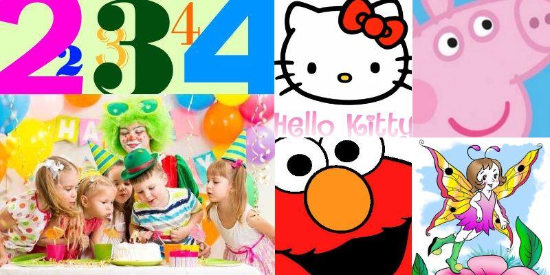 Super Kindergeburtstag Party Ideen für Kinder von 2 bis 4