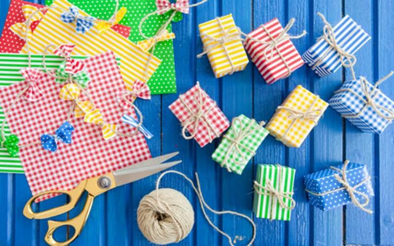 Mitgebsel für Kindergeburtstag selbst verpacken