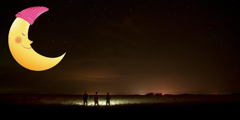 Taschenlampen- oder Mondscheinparty