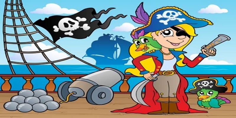 Piratenmädchen Party