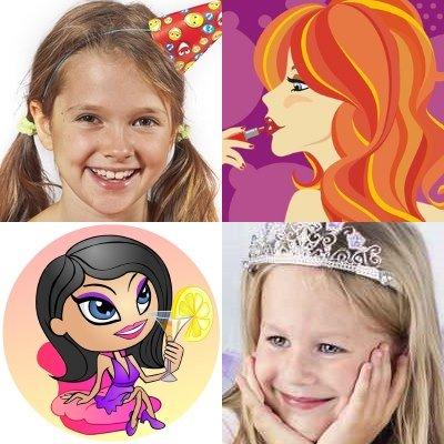 Super Kindergeburtstag Mottos für Mädchen